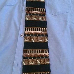 Metropolitan Museum of Art silk tie Egypt